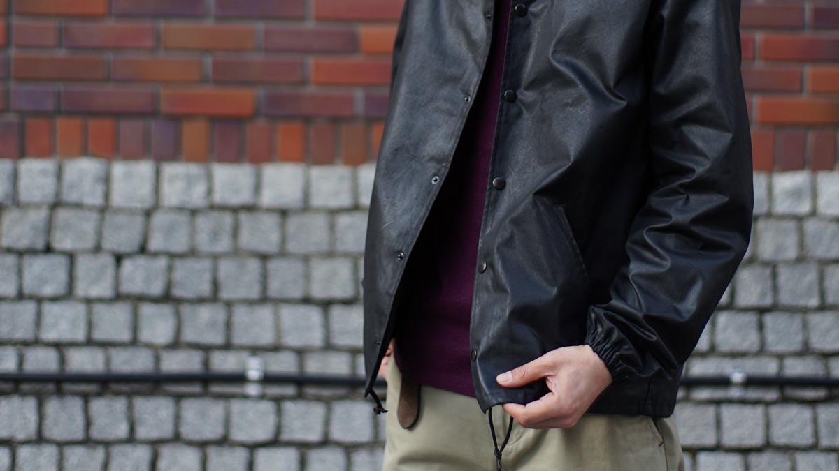 ワックスコットンコーチジャケット ACV-WX03 ACVM ADDICT CLOTHES JAPAN WAXED COTTON COACH JACKET