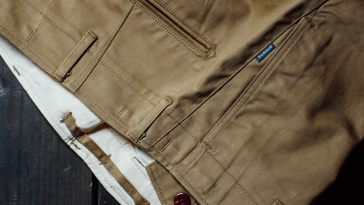 RENDER RDP924 R45 CHINO TROUSERS