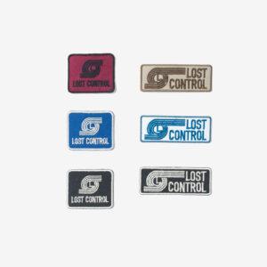 エンブロイダリーパッチ L21S1-8040 ロストコントロール LOST CONTROL EMBROIDERY PATCH