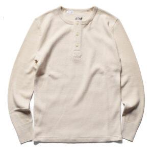 コットンシルクヘンリーネック ACV-CSL03 ACVM アディクトクローズ ADDICT CLOTHES JAPAN