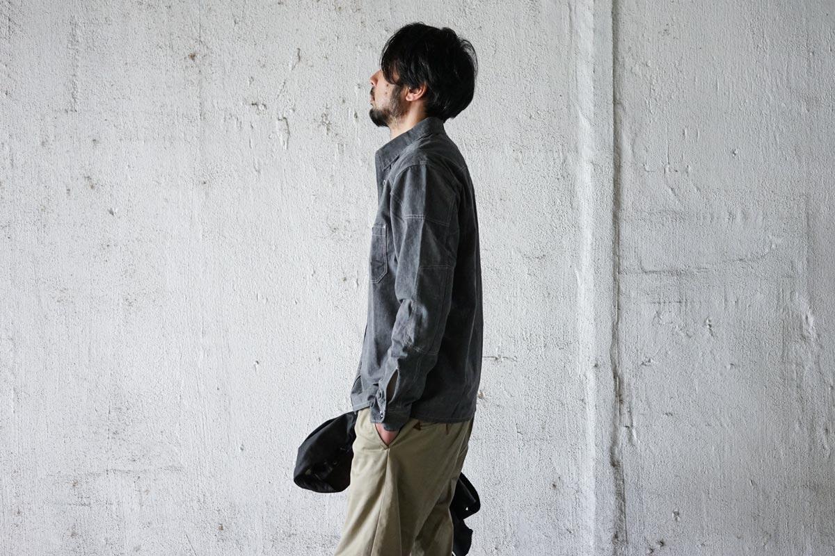 パデッドシャンブレーシャツ ACV-SH01 ACVM アディクトクローズジャパン ADDICT CLOTHES JAPAN PADDED CHAMBRAY SHIRT