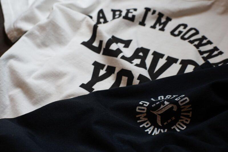 ロストコントロール グラッフィック半袖Tシャツ L21A2-0000 LOST CONTROL GRAPHIC SS TEE