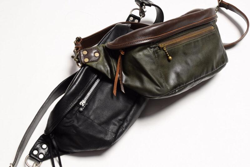 ワックスコットンウエストバッグ ACV-BG03 ACVM アディクトクローズ ADDICT CLOTHES WAXED COTTON WAIST BAG