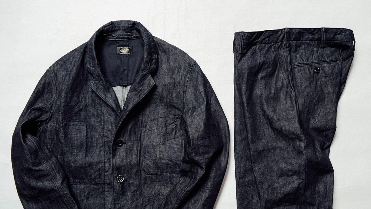 アディクトクローズ ACVM デニムワークジャケット デニムワークトラウザー セットアップ ADDICT CLOTHES JAPAN
