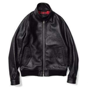 シープスキンハリントンジャケット ACV-LJK01 ACVM アディクトクローズ ADDICT CLOTHES JAPAN SHEEPSKIN HARRINGTON JACKET