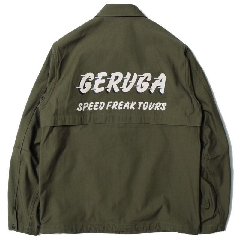 コーチジャケット GR-J-109A ゲルガ GERUGA COACH JACKET
