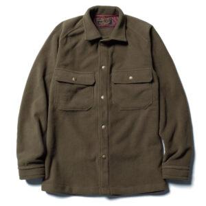 フリースミリタリーシャツ L20A2-2009 ロストコントロール LOST CONTROL FLEECE MILITARY SH