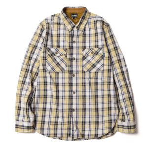 チェックワークシャツ L20A2-2010 ロストコントロール LOSt CONTROL CHECK WORK SH