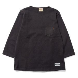 フラットネックヘビー3QTシャツ L20S1-1006 ロストコントロール LOST CONTROL FLAT NECK HEAVY 3Q TEE