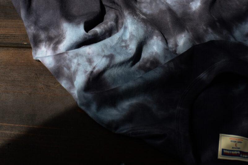 アンイーブンダイイングロングスリーブTシャツ L19A2-1002 ロストコントロール LOST CONTROL UNEVEN DYEING LS TEE