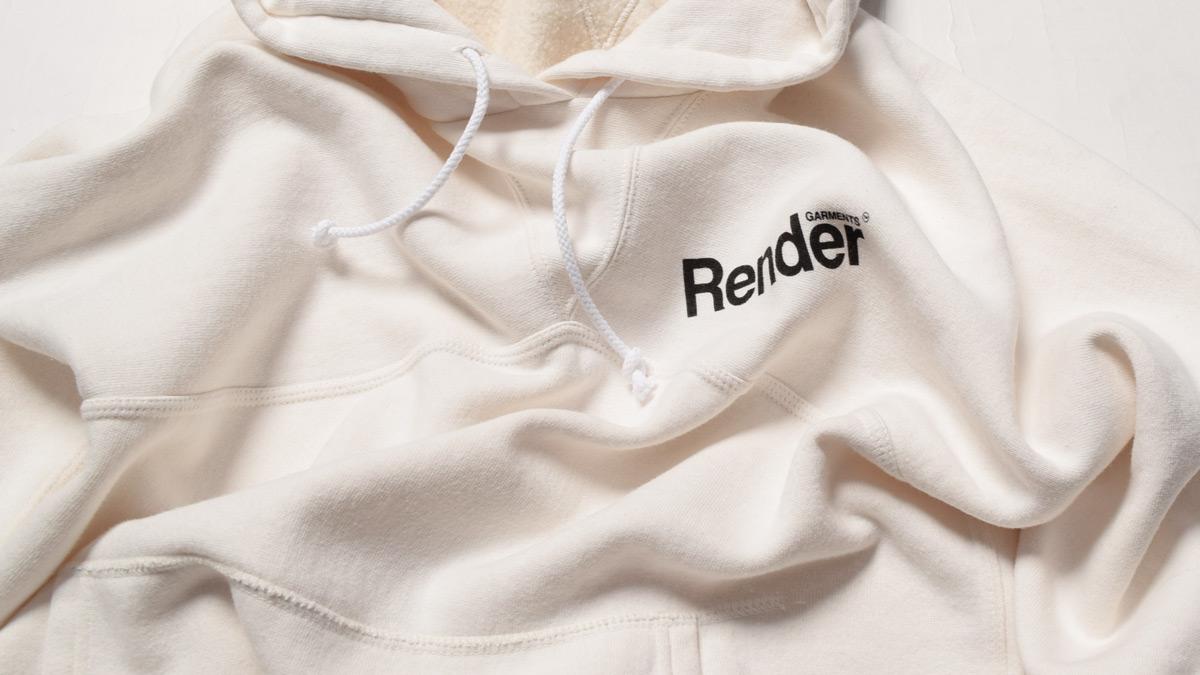 プルオーバースウェットフーディ RDC914 レンダー RENDER PULLOVER SWEAT HOODIE