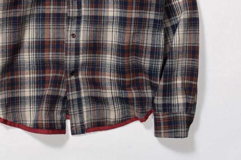 ヘビーネルチェックシャツ RDS903 レンダー RENDER HEAVY NEL CHECK SHIRTS