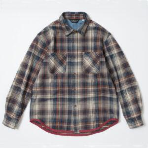 チェックワークシャツ RDS915 レンダー RENDER CHECK WORK SHIRT