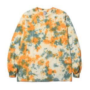 タイダイロングスリーブTシャツ TD-01 ニュートラル NEUTRAL TIE DYE L/S T SHIRTS