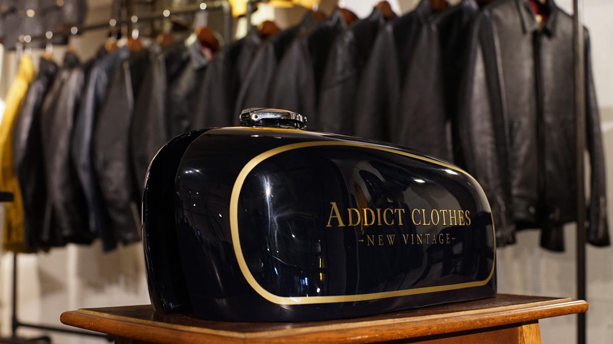 アディクトクローズ名古屋 アディクトクローズジャパン レザージャケット ライダースジャケット ADDICT CLOTHES JAPAN