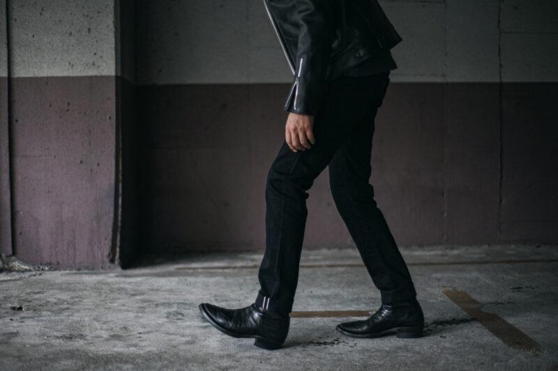 タイトテーパードストレッチデニム ACV-P02 ACVM ADDICT CLOTHES JAPAN TIGHT TAPERED STRETCH DENIM
