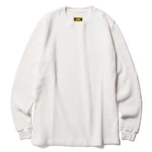 ヘビーウェイトワッフルクルー ACV-TM01 ACVM ADDICT CLOTHES JAPAN HEAVY WEIGHT WAFFLE CREW