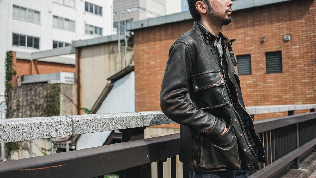 BMCジャケット スタイリング AD-10 アディクトクローズジャパン ADDICT CLOTHES JAPAN BMC JACKET